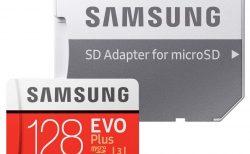 【プライムデー】Samsung microSDカード128GB EVOPlus Class10 UHS-I U3対応が特価2,510円