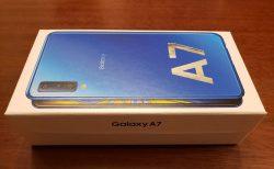 実質無料の楽天モバイルのGalaxy A7を購入した。通信料が1年間無料はお得すぎる