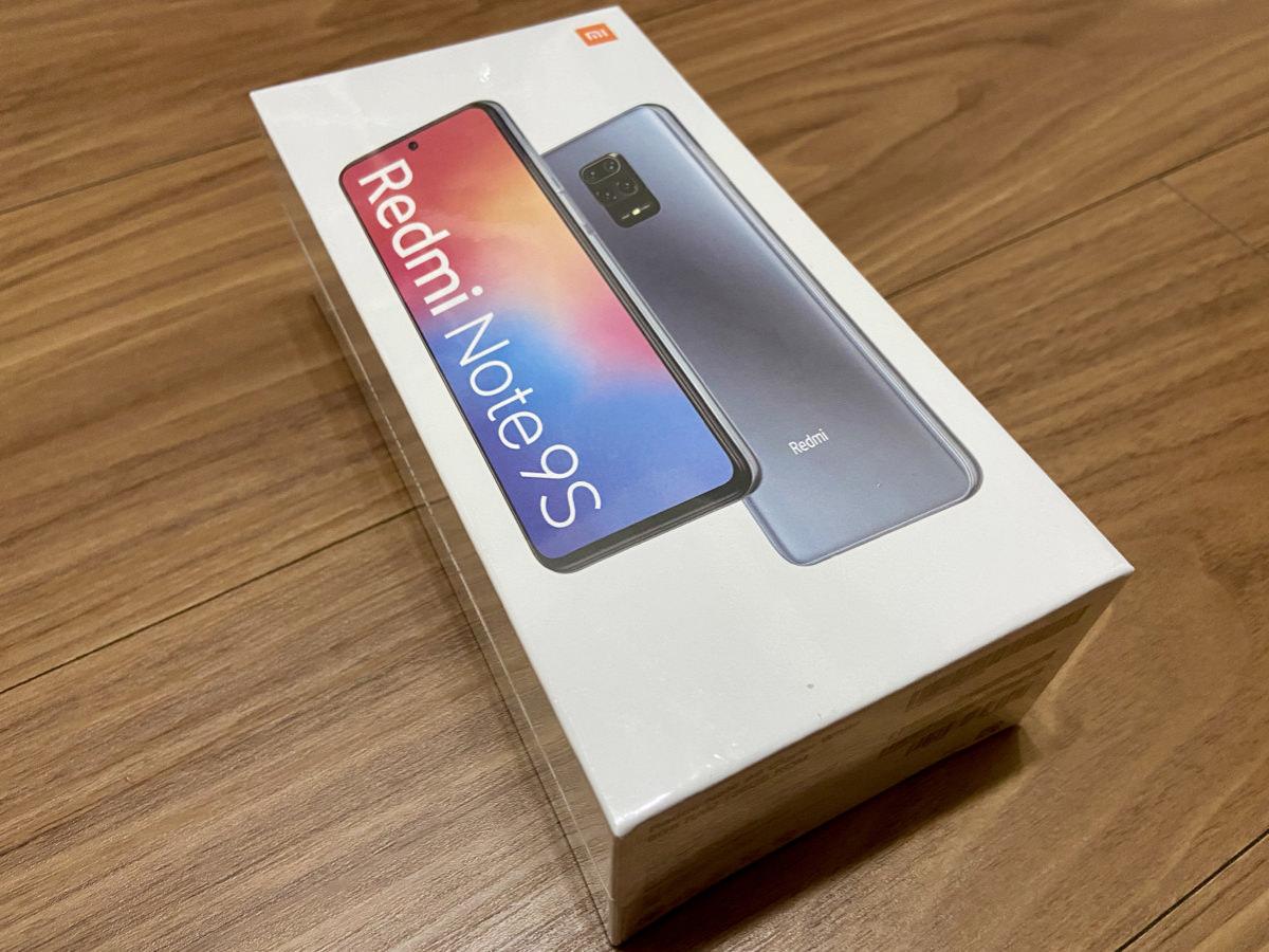 【レビュー】1ヶ月使ってわかったRedmi Note 9Sの魅力と欠点