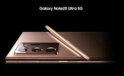 Galaxy Note20 Ultra 5G SCG06、2020年10月15日に発売。価格は159,830円。