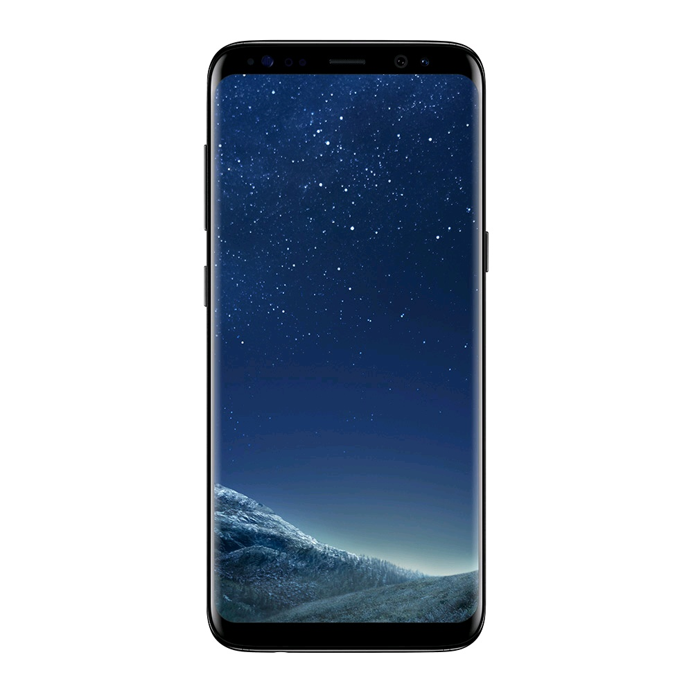 Galaxy S8 Dual-SIM SM-G950FD (Simフリー, 64GB, Midnight Black)